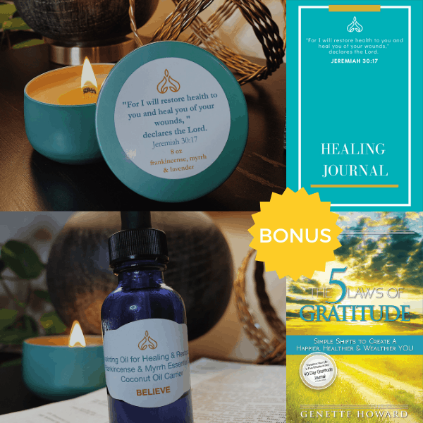 Light My Path Healing Collection by Genette Howard