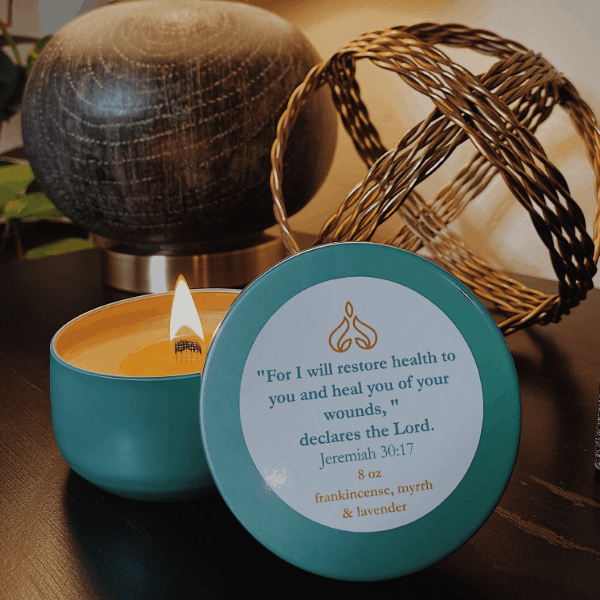 Light My Path Candle from the Healing Collection by Genette Howard